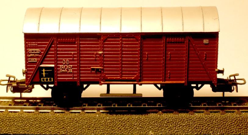 die einfachen Güterwagen der Serie 4500 Teil 2 4505-3