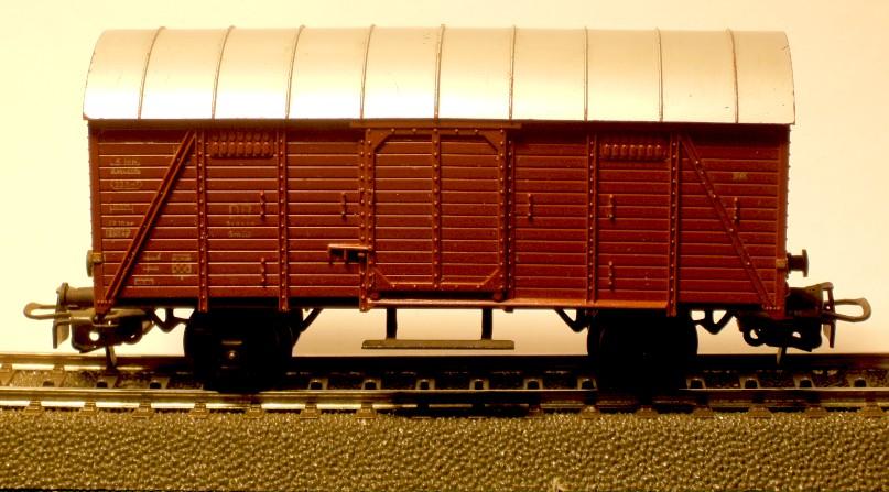 die einfachen Güterwagen der Serie 4500 Teil 2 4505-6