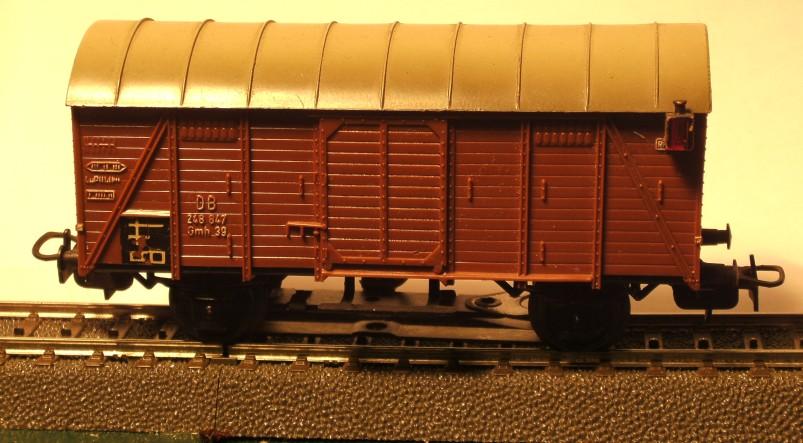 die einfachen Güterwagen der Serie 4500 Teil 2 4506-1