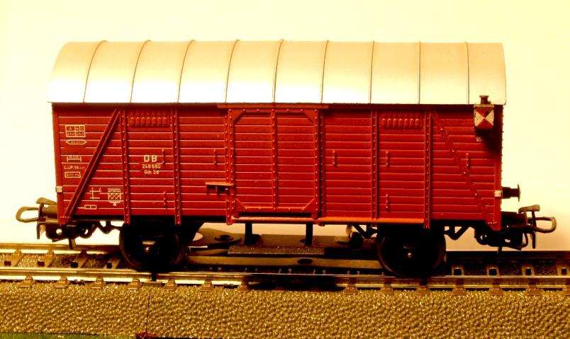 die einfachen Güterwagen der Serie 4500 Teil 2 4506-8