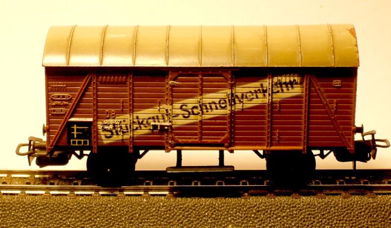 die einfachen Güterwagen der Serie 4500 Teil 2 4507-2