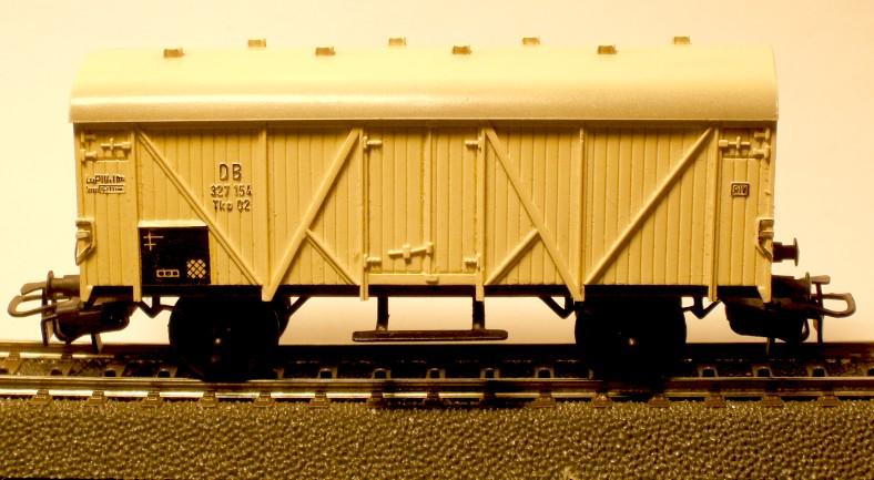 die einfachen Güterwagen der Serie 4500 Teil 2 4508-4