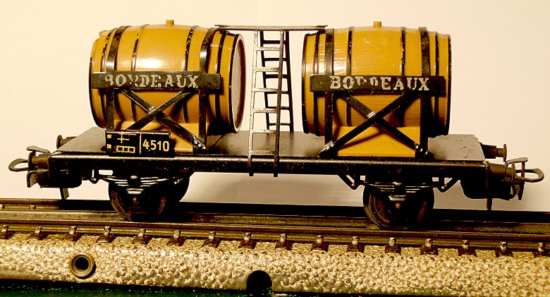 die einfachen Güterwagen der Serie 4500 Teil 2 4510-5