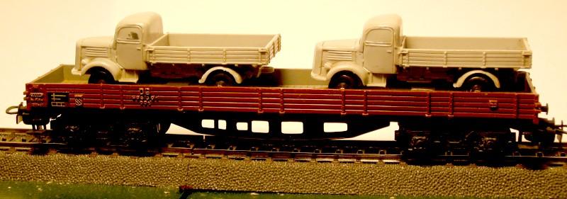 die einfachen Güterwagen der Serie 4500 Teil 3 4515-1