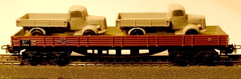 die einfachen Güterwagen der Serie 4500 Teil 3 4515-2