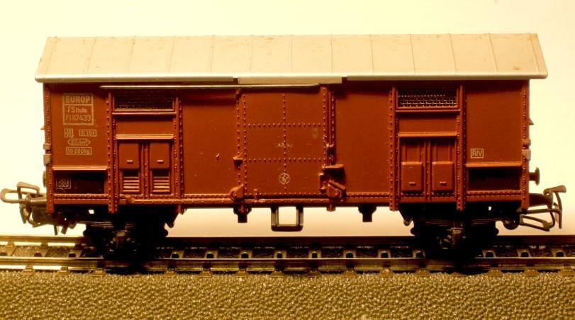 die einfachen Güterwagen der Serie 4500 Teil 4 4550-2