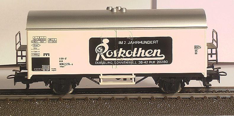 Märklin Werbewagen aus den 80er Jahren BILD0108